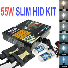 55W HID Xenon Conversion KIT Headlights Error Free Canbus H7 8000/10000/12000K
