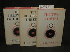 Tolkien,  J.R.R. THE LORD OF THE RINGS TRILOGY  thre...