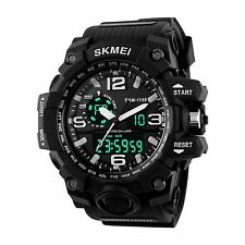 Big Dial Digital Watch SHOCK Mens Military Army Water Resistant LED Sport Watch