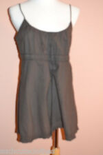 James Perse Flattering Galore Empire Drawstring Tunic Sleeveless Top Size