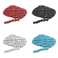 "4 Colors Bike Steel Chain Fixed Gear Track BMX Fixie Single Speed 1/2"" x 1/8"""