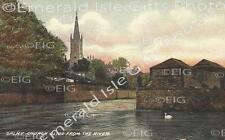 Camry Church Sligo viewed from The River Old Irish Photo Print - Size Selectable