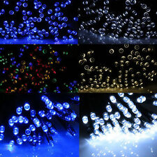 200/100 LED Solar Powered Fairy Lights String Party Xmas Wedding Garden BDM