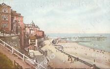 Norfolk Cromer The Old Pier and Promenade Old Photo Print - Size Select
