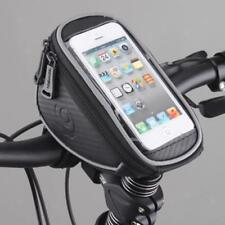 Bike Cycling Front Frame Tube Bag Bicycle Handlebar Screen Touchable Phone Case