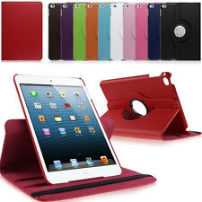 360 Rotating PU Leather Flip Stand Case Smart Cover For IPad Mini 4