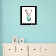 Canvas Wall Hanging Art Painting Picture Christmas Reindeer Poster Decoration