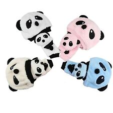 Elastic Wear Boy Bib Toddler Girl Baby Warm Winter Panda Hat Cap Scarf Muffler