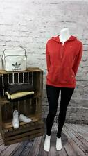 Nike Lady's Long Sleeve Tracksuit Training Top Gym Hoodie Jacket in Red Colour.