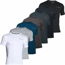 Under Armour 2017 Charged Cotton SS T-Shirt Mens Microthread Training Sports Tee
