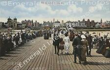Norfolk Great Yarmouth The Jetty colour Old Photo Print - Size Selectable