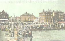 Norfolk Great Yarmouth Diving Platform in Bathing Old Photo Print - Size Select