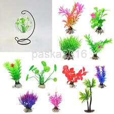 Artificial Aquatic Water Grass Plastic Plant Coral Aquarium Fish Tank Decor