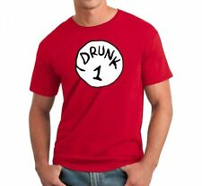 DRUNK 1 2 3 4 5 6 T-SHIRT Dr Seuss Thing S-2XL Easy Funny Costume NEW