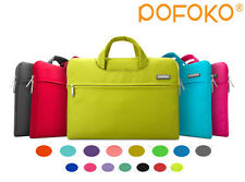 Pofoko laptop Sleeve Case Carry Bag Pouch Cover For macbook Pro Air 11 12 13 15
