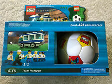 LEGO 3411 Soccer Americas Team Bus - TEAM TRANSPORT with SOCCER BALL - NEW
