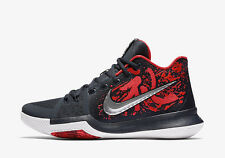 Nike Kyrie 3 Samurai Red Black Multi Color 852396-900 In Hand Ready To Ship
