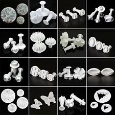Fondant Cake Cutter Plungers Cookies Mold Sugarcraft Pastry Decor Paste Tool SU