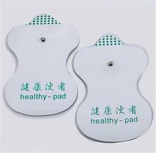 White Electrode Pads For Tens Acupuncture Digital Therapy Machine Massager gv