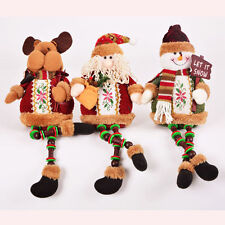 Fashion Winter Holiday Sittig Doll Home Decoration Gift Hanging Ornament