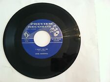 RARE UNKNOWN NORTHERN SOUL -GENE MARSHALL -I CAN'T GO ON -45 RPM -(ORIG) N MINT