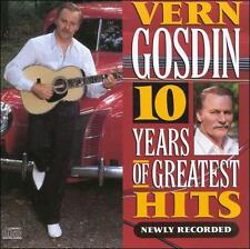 10 Years of Greatest Hits: Newly Recorded by Vern Gosdin (CD, Feb-2008, Columbia