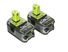 Ryobi Lithium Ion Battery Batteries Pack Rechargeable 18 V Trimmer Cordless Volt