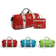 Outdoor Travel Duffel Bag Foldable Luggage Sports Gym Yoga Shoulder Package Pack
