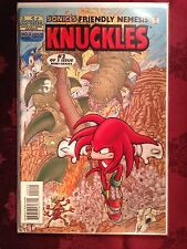 Sonic The Hedgehog Comic Book KNUCKLES Mini Series #2 First Edition Bagged NM