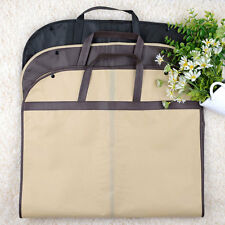 Cloth Suit Dress Coat Garment Storage Travel Carrier Bag Cover Hanger Protector