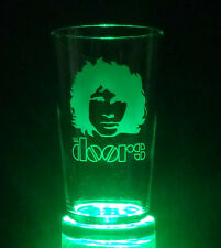 The Doors Jim Morrison Etched Tankard Pint & Hi Ball Glasses FREE UK POSTAGE