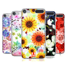 HEAD CASE DESIGNS GLAMOROUS BLOOMS HARD BACK CASE FOR APPLE iPOD TOUCH MP3