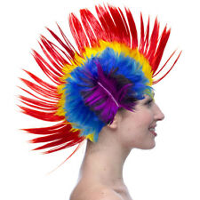 Special multiple LOT Mohawk Hair Wig Mohican Rock Fancy Dress Cosplay Party