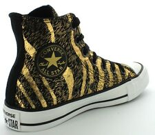 Converse Star Hi Top Women Trainers Boots Leopard Print Shoes All Sizes~