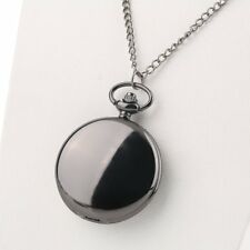 New Creative Retro Mirror Smooth Slender Necklace Vintage Quartz Pocket Watch ZJ