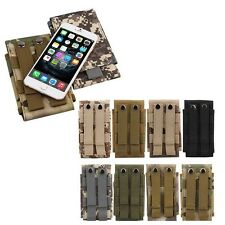 Universal Army camo Belt Pouch Case Cover for Mobile Phone Holster tactical Bag