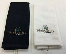 BRAND NEW PINE VALLEY GOLF CLUB GOLF TOWEL - 2 COLORS TO CHOOSE FROM - FREE S&H