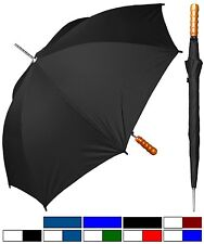 "Lot of 12 - 48"" Arc, Auto-Open Rain Sport Umbrella - RainStoppers Rain/Sun UV"