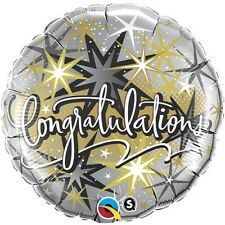 "18"" Congratulations Elegant Mylar Foil Balloon (Wedding, Anniversary, Graduation"