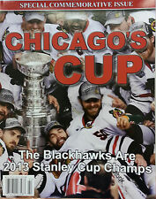 2013 Chicago Blackhawks Stanley Cup Commemorative Unstoppable Book Magazine