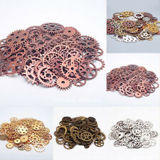 100g/Bag Pieces Punk Steampunk Wrist Watch Old Parts Gears Wheels Steam Collage