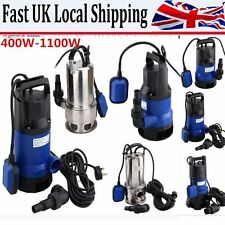 HOT DIRTY / CLEAN SUBMERSIBLE ELECTRIC WATER PUMP SWIMMING POOL POND FLOOD DRAIN