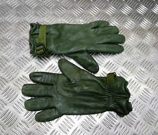 Genuine British Military Issued Soldier 95 Green Leather Combat Gloves MVP