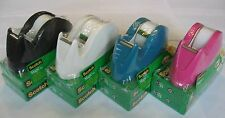 SCOTCH MAGIC TAPE 5 BRAND NEW ROLLS (INVISIBLE) & C29 DISPENSER 4,350INCH 120YD