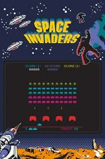 Space Invaders Screen Poster 61x91.5cm