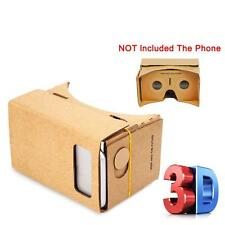 3D Virtual Reality VR Box Headset Google Glasses Cardboard Video Game For IOS TR
