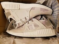 Adidas NMD_XR1 PK White Duck Camo White Grey Prime knit XR1 NMD BA7233