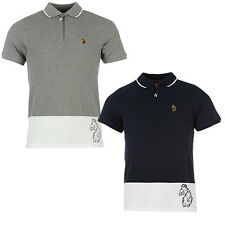 Luke 1977 Mens Dividends Lion Printed Polo Shirt