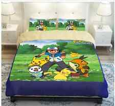 NEW Pokemon Bedding Set modern quilt Bed Cover Size: Queen, Twin