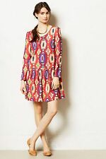 NIP Anthropologie Wildfires Dress by Eyedoll, sizes, Red, $148, fun & cute